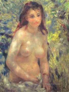 Pierre Auguste Renoir Painting - nude in the sunlight Pierre Auguste Renoir