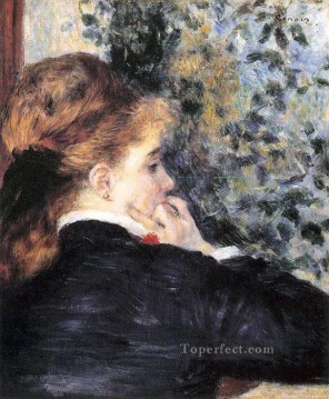 pensive Pierre Auguste Renoir Oil Paintings