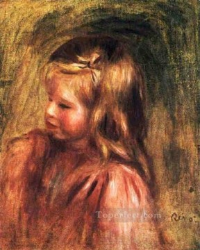 portrait of coco Pierre Auguste Renoir Oil Paintings