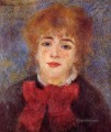 portrait of jeanne samary Pierre Auguste Renoir