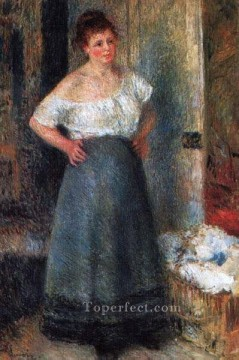 the laundress Pierre Auguste Renoir Oil Paintings