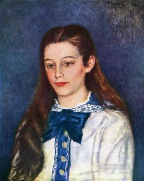 Therese Oil Painting - therese berard Pierre Auguste Renoir