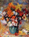 vase of chrysanthemums Pierre Auguste Renoir