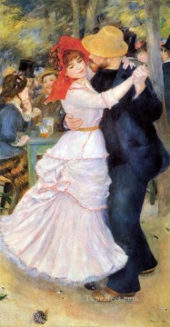 Dance at Bougival master Pierre Auguste Renoir Oil Paintings