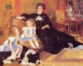Madame Georges Charpentier and her Children master Pierre Auguste Renoir