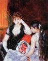 at the concert Pierre Auguste Renoir