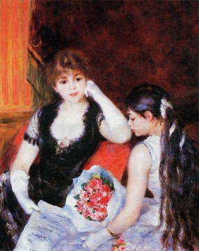 at the concert Pierre Auguste Renoir Oil Paintings