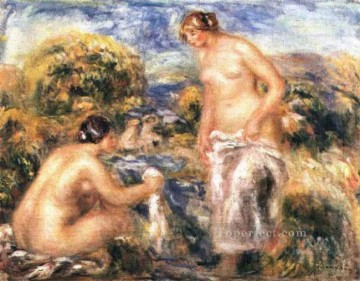bathers 1910 Pierre Auguste Renoir Oil Paintings