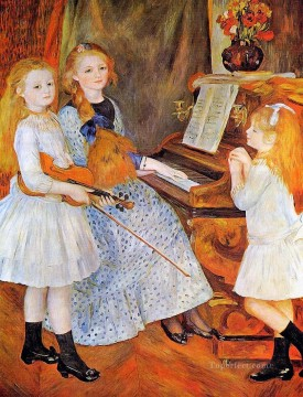 Daughters Art - daughters of catulle mendes Pierre Auguste Renoir