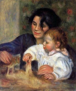 gabrielle and jean Pierre Auguste Renoir Oil Paintings