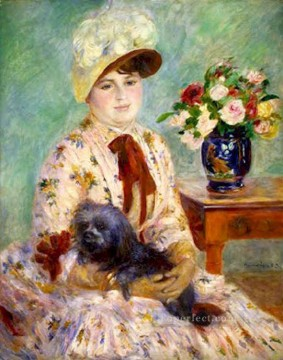 mlle charlotte berthier Pierre Auguste Renoir Oil Paintings