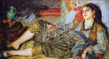 odalisque woman of algiers Pierre Auguste Renoir Oil Paintings