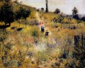 path through the high grass Pierre Auguste Renoir
