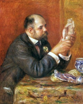portrait of ambroise vollard Pierre Auguste Renoir Oil Paintings