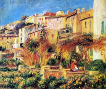 terrace in cagnes Pierre Auguste Renoir Oil Paintings