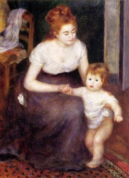 the first step Pierre Auguste Renoir Oil Paintings