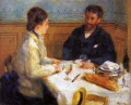 the luncheon Pierre Auguste Renoir