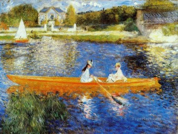 the skiff Pierre Auguste Renoir Oil Paintings