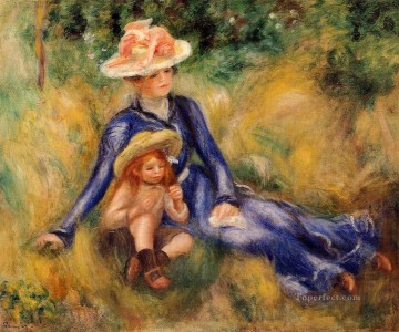 yvonne and jean Pierre Auguste Renoir Oil Paintings