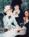after the luncheon Pierre Auguste Renoir