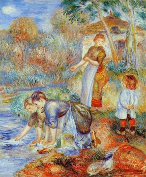 laundresses Pierre Auguste Renoir Oil Paintings