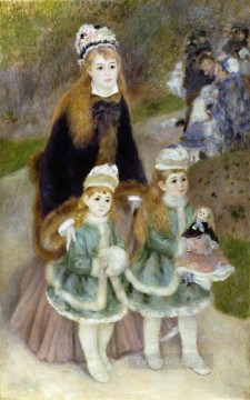 mother and children Pierre Auguste Renoir Oil Paintings