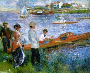 oarsmen at chatou Pierre Auguste Renoir Oil Paintings