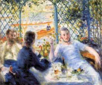 the canoeists luncheon Pierre Auguste Renoir Oil Paintings