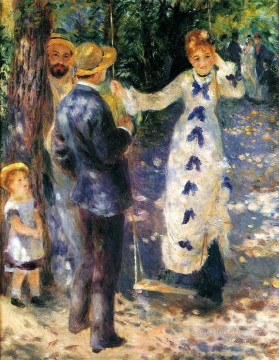 the swing Pierre Auguste Renoir Oil Paintings