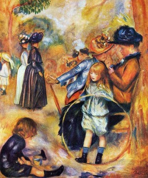 at the luxembourg gardens Pierre Auguste Renoir Oil Paintings