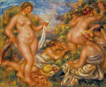 bathers Pierre Auguste Renoir Oil Paintings
