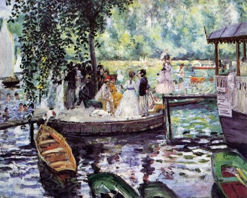 la grenouillere1 Pierre Auguste Renoir Oil Paintings