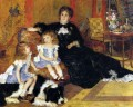 madame charpentier and her children Pierre Auguste Renoir