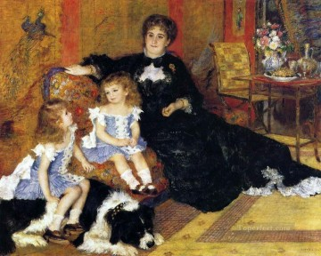 madame charpentier and her children Pierre Auguste Renoir Oil Paintings