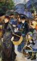 the umbrellas Pierre Auguste Renoir