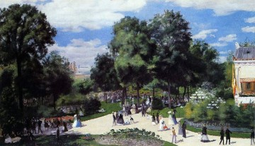 Pierre Auguste Renoir Painting - champs elysees paris fair Pierre Auguste Renoir