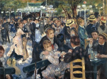 The Ball at the Moulin de la Galette master Pierre Auguste Renoir
