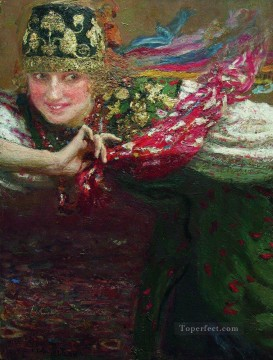 Dancing Art - dancing woman Ilya Repin