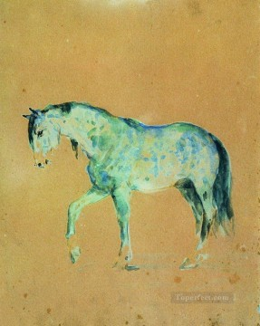 horse Ilya Repin Oil Paintings