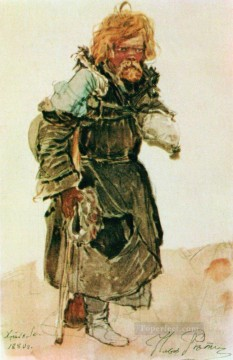pilgrim 1880 Ilya Repin Oil Paintings