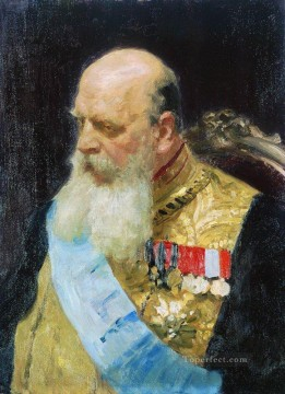 Repin Art Painting - portrait of count d m solsky 1903 Ilya Repin