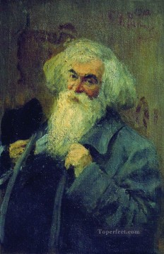 Ilya Repin Painting - portrait of the author ieronim yasinsky 1910 Ilya Repin
