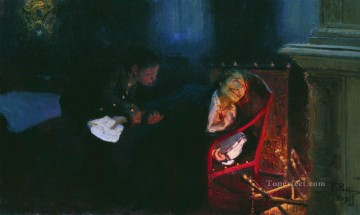 Ilya Repin Painting - the self immolation of gogol 1909 Ilya Repin