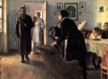 Unexpected visitors Russian Realism Ilya Repin
