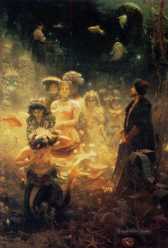 Repin Art Painting - Under the Sea Russian Realism Ilya Repin