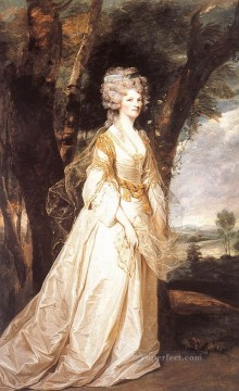 Sun Oil Painting - Lady Sunderlin Joshua Reynolds