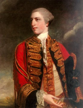 Portrait Of Charles Fitzroy Joshua Reynolds Oil Paintings