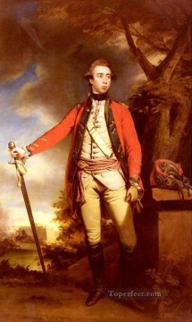 Portrait Of George Townshend Lord Ferrers Joshua Reynolds Oil Paintings