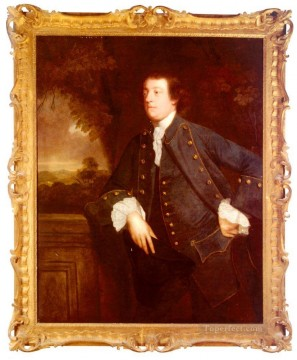 william art painting - Portrait Of Sir William Lowther 3rd Bt Joshua Reynolds