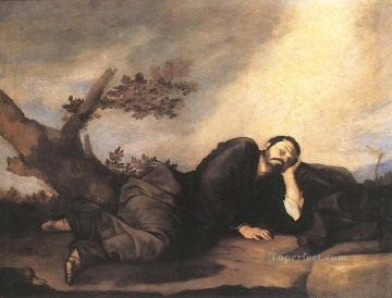 Dream Painting - Jacobs Dream Tenebrism Jusepe de Ribera